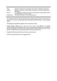Proceedings ICLS 2008 Conference, Part 3 - NIE Digital Repository ...