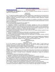 Lei Complementar nº 109, de 29 de maio de 2001 - Ministério do ...