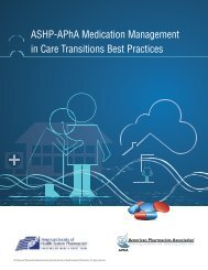 Medication Management in Care Transitions Best Practices