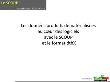 Présentation projet SCOUP - dthX