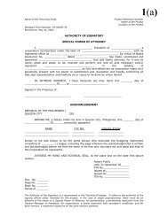 Sample Forms - Philippines Bases Conversion and Development ...