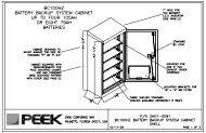Peek Generic 2H01-0091 BC100HZ Data Sheet r1.pdf - Peek Traffic