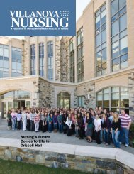 Nursing's Future Comes to Life in Driscoll Hall - Villanova University