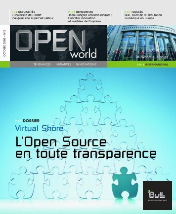 Livre blanc applications Open Source - Bull