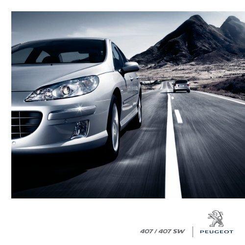 Peugeot 407 407 SW april10.indd