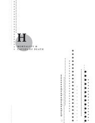 H - Mortality & Causes of Death