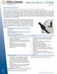 APPLICATION BULLETIN - CCAP-RL - DSG-Canusa