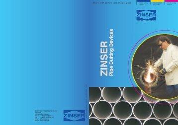 Brochure - Zinser Schweisstechnik GmbH