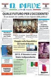 QuALE fuTuRO pER L'OCCIDENTE? Manifesto ... - Museo del Piave