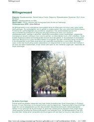 Millingerwaard - ARK Natuurontwikkeling