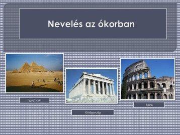 Nevelés az ókorban - Dr. Fehér Katalin
