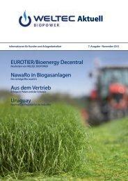 Aktuell - WELTEC BIOPOWER GmbH