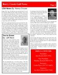 Berry Creek Golf News Handicap Committee News By - Page 3