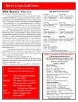 Berry Creek Golf News Handicap Committee News By - Page 4