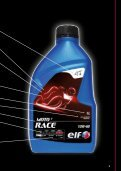 NOUVELLE GAMME ELF MOTO - total raffinage marketing - Page 5