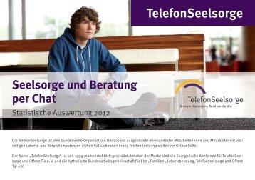 Statistik Chat 2012.pdf - Telefonseelsorge