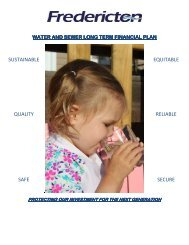 City of Fredericton Waste & Sewer Long-Term Financial Plan (PDF)