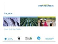 Impacts - UN CEO Water Mandate