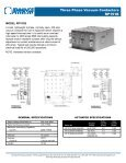 Three Phase Vacuum Contactors RP133 - AMS Technologies - Page 3