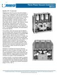 Three Phase Vacuum Contactors RP133 - AMS Technologies - Page 4