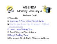 Thank You Letter PowerPoint and Video Clip - Mona Shores Blogs