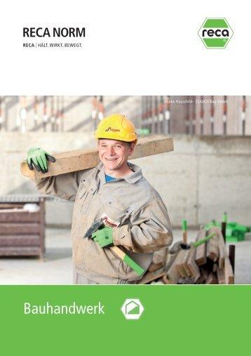 2013 02 Bauhandwerk.pdf - RECA NORM