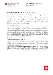Nation Brands Index 2011: Switzerland's image abroad - SwissInfo