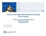 presentationen - Apotekarsocieteten