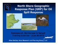 Training materials - GRPs - Massachusetts Geographic Response ...