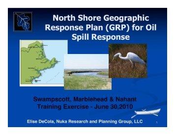 Training materials - GRPs - Massachusetts Geographic Response ...