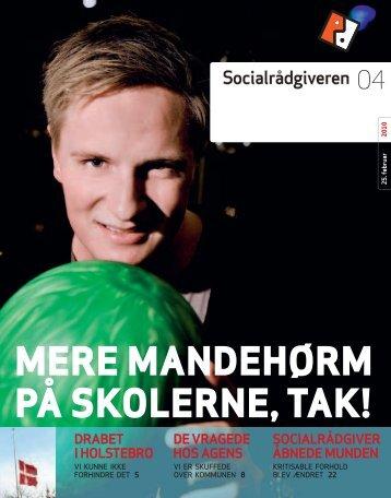 Socialrådgiveren nr. 4-2010 - Dansk Socialrådgiverforening