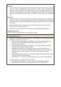 Terms of reference Position: : REDD+ MRV Framework ... - UNDP - Page 6