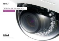 video security iP Line-up 2012 - Elvia CCTV