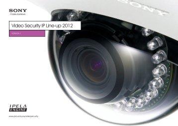 video security iP Line-up 2012 - Elvia CCTV