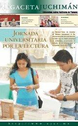 juchimán gaceta - Publicaciones - Universidad Juárez Autónoma de ...