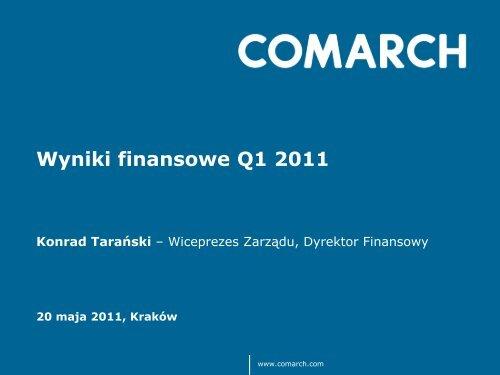 Q1 2011.pdf - Comarch