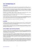 2011 interim results - CRH - Page 2