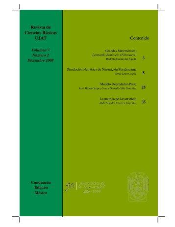 pdf 5.5Mb - Publicaciones - Universidad Juárez Autónoma de Tabasco