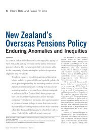 New Zealand's Overseas Pensions Policy - Institute for Governance ...