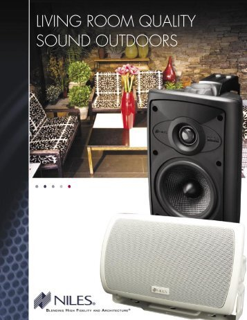 Niles - Loudspeaker Outdoor.pdf - Horn