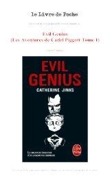 Evil Genius - Le Livre de Poche