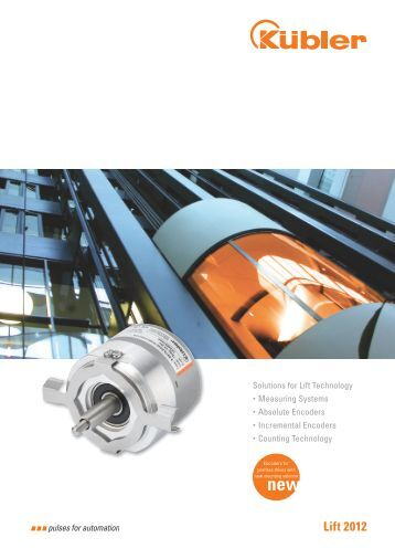 Brochure Solutions for Lift Technology - Kübler