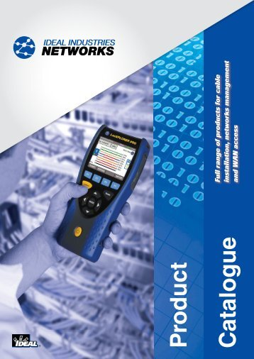 Networks Catalogue English - IDEAL INDUSTRIES