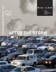 Q2 2010 Report to Unitholders - English version (PDF 1.56 ... - RioCan