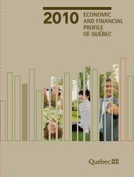 Economic and Financial Profile of Québec - 2010 Edition - Finances