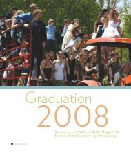 Graduation 2008 - The Putney School