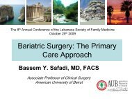 Bariatric Surgery: The Primary Care Approach