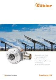Solar Energy 2012