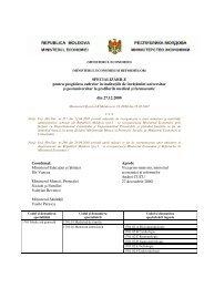 Specializările pentru pregătirea cadrelor în instituţiile de învăţămînt ...