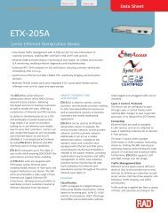 ETX-205A - CB Networks